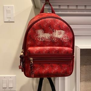 Coach Horse and Carriage Medium Charlie Backpack